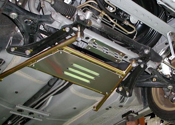 Beatrush Front Performance Bar For Mr2 Spyder